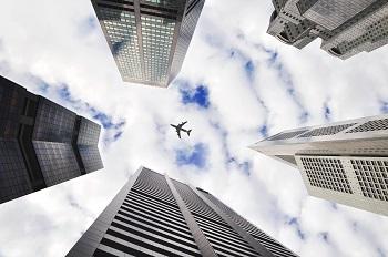 Interessante Fakten übers Fliegen Bild oben