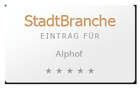 Alphof Bewertung & Öffnungszeit