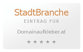 Domainaufkleber.at Bewertung & Öffnungszeit