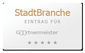 G��rtnermeister Bewertung & Öffnungszeit