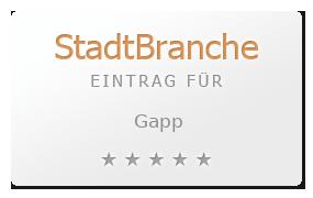 Gapp Bewertung & Öffnungszeit