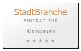 Klambauers Bewertung & Öffnungszeit