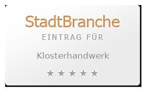 Klosterhandwerk Bewertung & Öffnungszeit