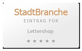 Lettershop Sonderanfertigungen Grafik Wien