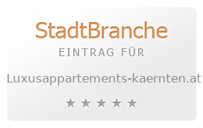 Luxusappartments Kärnten: Luxusappartements Kärnten
