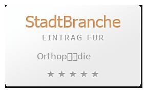 Orthop��die Bewertung & Öffnungszeit