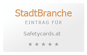 Safetycards.at by Bernhard Frois