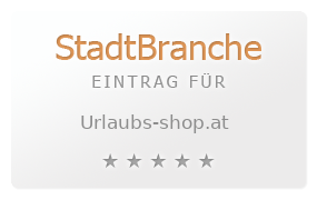 urlaubs shop.at   Informationen