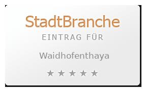 Waidhofenthaya Bewertung & Öffnungszeit