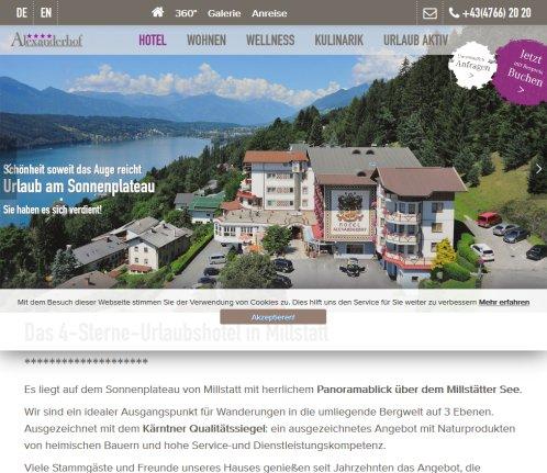 Hotel Alexanderhof Ihr Karnten 2019