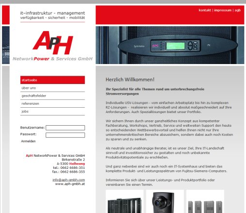 USV  UPS  APC   ApH NetworkPower  Services GmbH ApH NetworkPower  Services GmbH Öffnungszeit