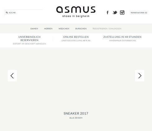 ASMUS Schuhe asmus Schuh + Sport Mode Handels GesmbH Öffnungszeit 1239438279