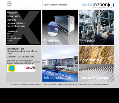 automationX   Solutions beyond the limits AutomationX GmbH Öffnungszeit