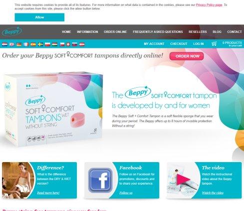 Beppy Soft Tampons › Hygieneartikel Kerpen 2020