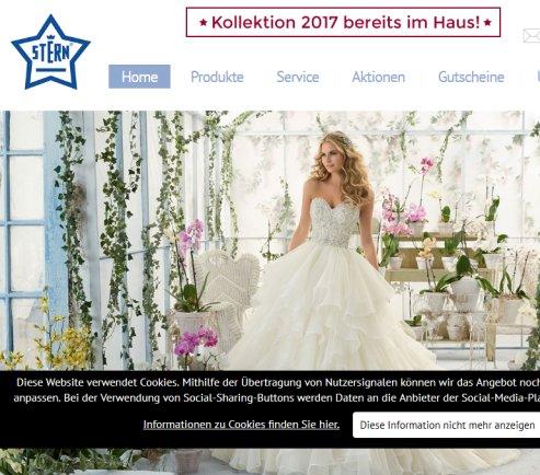 Brautmoden stern