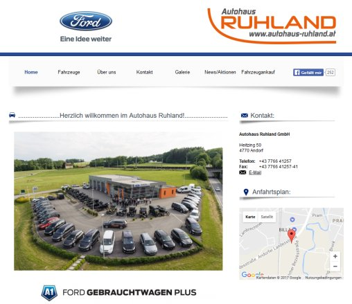 Ruhland Gmbh autohaus ruhland autohaus ruhland gmbh ford andorf 2018
