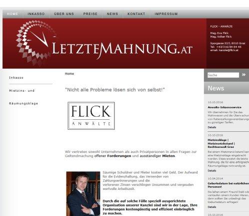 ᐅ Rechtsanwalt Flick Inkasso Inkasso Graz 2018
