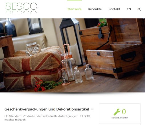 SESCO Marketing  Sales GmbH  Öffnungszeit