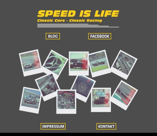 SPEED IS LIFE   Slotracing  Öffnungszeit