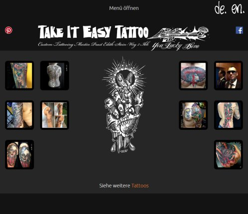 Take It Easy Tattoo   Custom Tattoo Studio Innsbruck   Martin Prast  Öffnungszeit