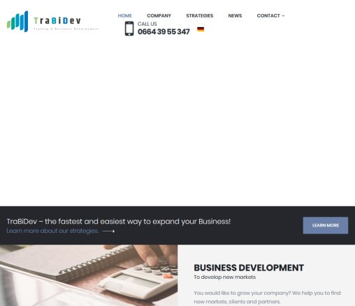 TraBiDev | Trading & Business Development Öffnungszeit