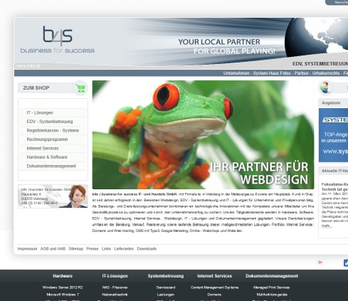 www.b4s.at : EDV  IT Lösungen Grafik Druck b4s | business for success GmbH Öffnungszeit