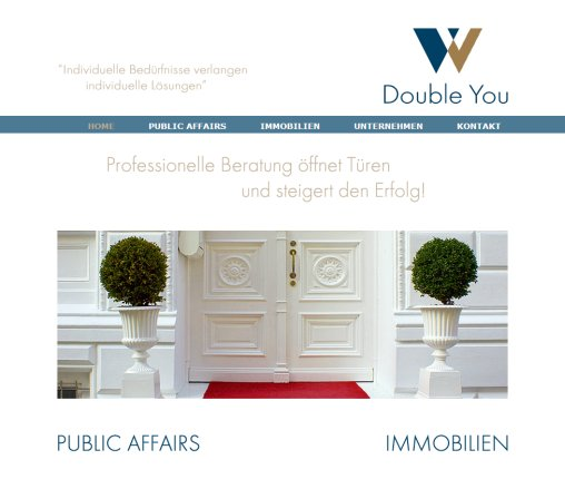 Double You Development GmbH  Mag. Florian Wöhrle   PR Beratung  Public Affairs  Lobbying  Immobilien in Wien Double You Development GmbH Öffnungszeit