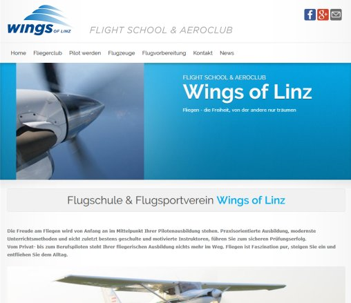Wings of Linz  Flight School  Aeroclub  Öffnungszeit