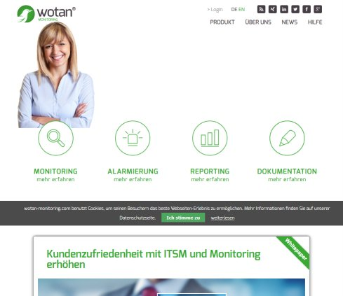 WOTAN IT-Monitoring-Software Graz Öffnungszeit